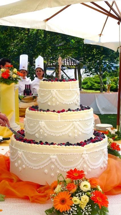 Wedding Cake in agriturimo