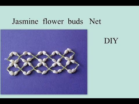 Tutorial of rose petals and jasmine decorations - YouTube