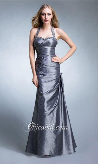 Capestro Sirena Abito da Cerimonia Elegante Tromba #chicabiti