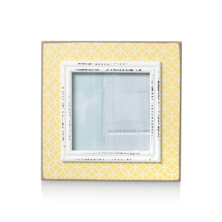 Add instant colour and print to your room with the Geo Bright Frame