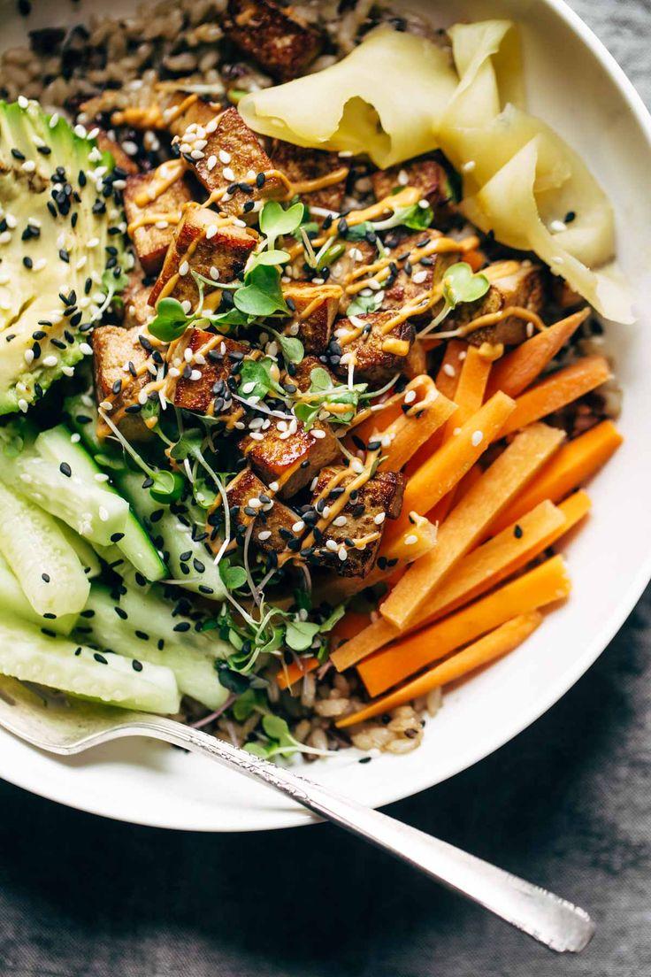Sushi Bowl on Pinterest | California roll sushi, Brown rice sushi ...