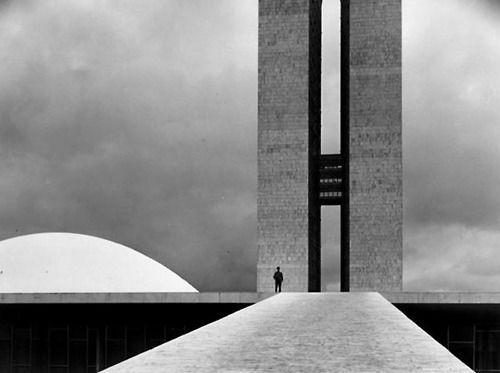 Brasilia - Oscar Niemeyer  (Interesting look but I think the great looking buildings are so far away from each others thus making them impractical for citizens to use.)