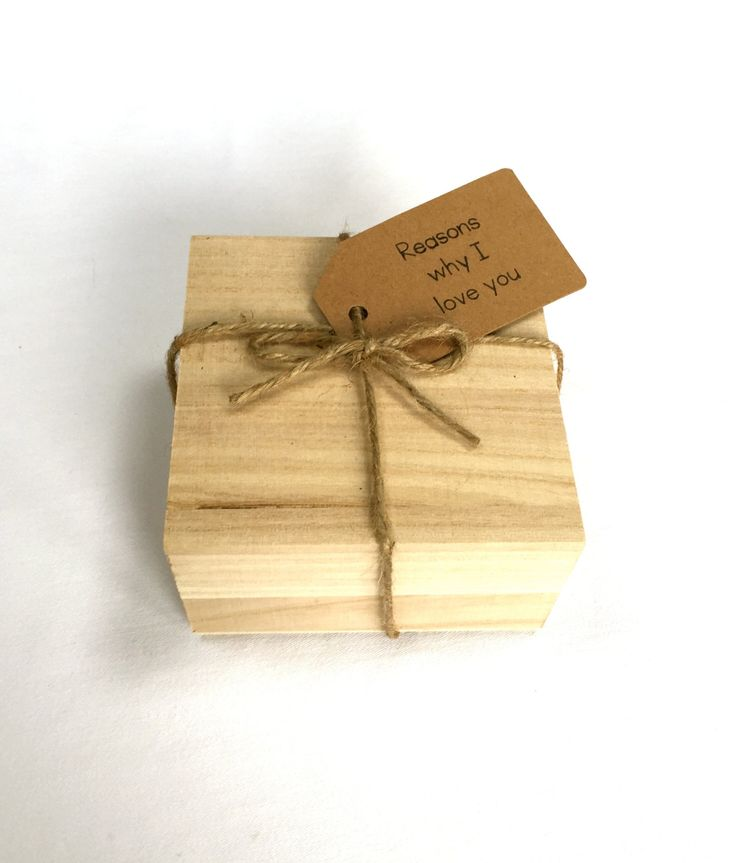 Wooden Memory Box Kit - Valentines Day Gift, For Her, For Him, Gift for Boyfriends, Gift for Girlfriends,Gift for Wife, Gift for Husband by FiftyTwoReasonsWhy on Etsy