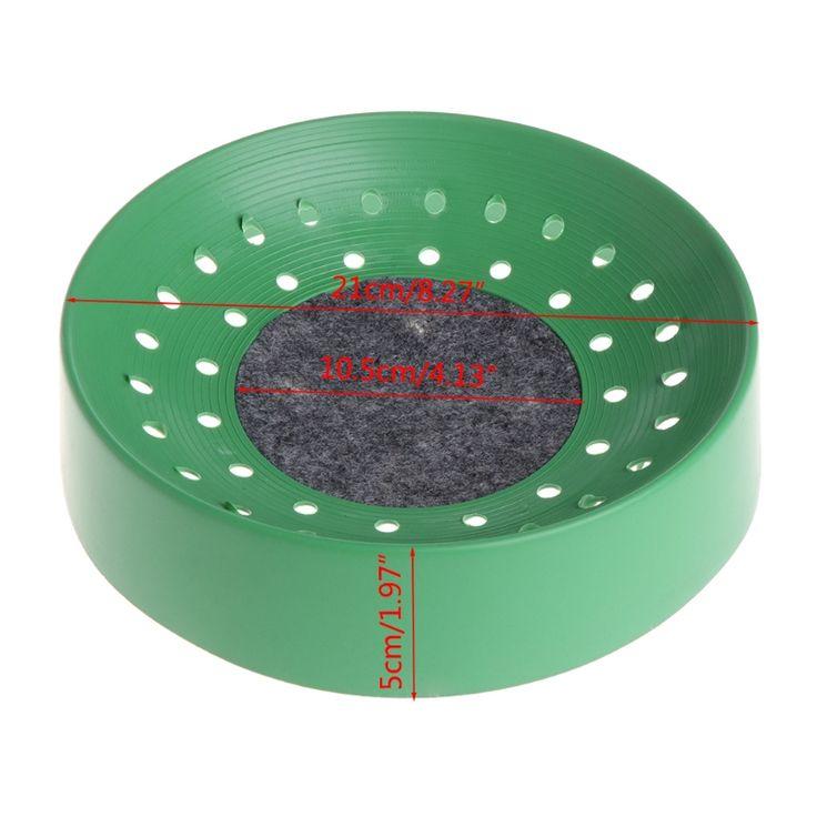 1PC Pigeon Supplies Plastic Dehumidification Breeding Bird Egg Basin Nest Bowl Mat