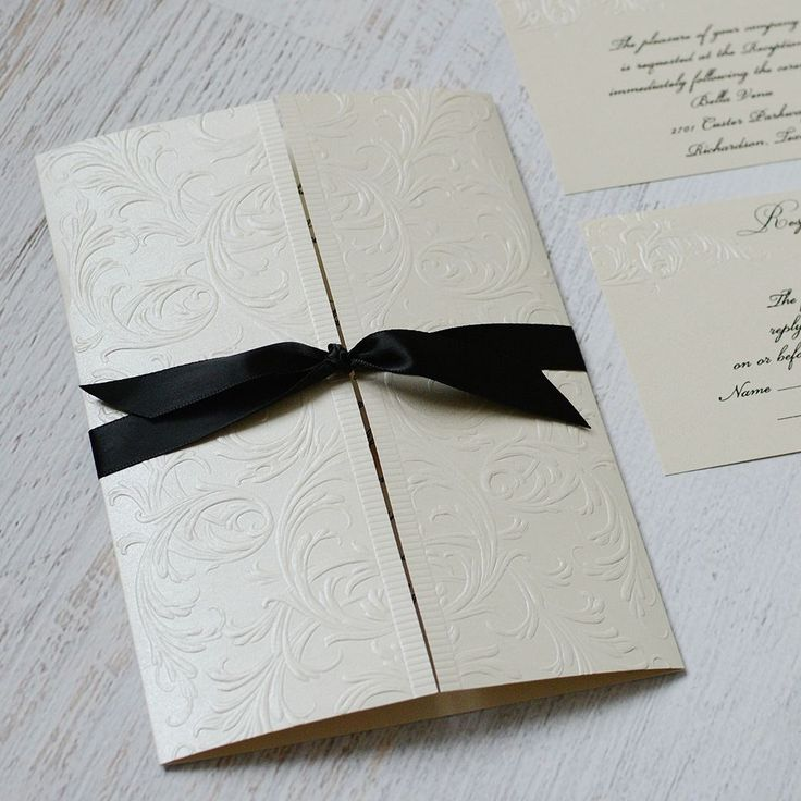 small wedding ceremony invitations%0A Elegance and Grace  Invitation
