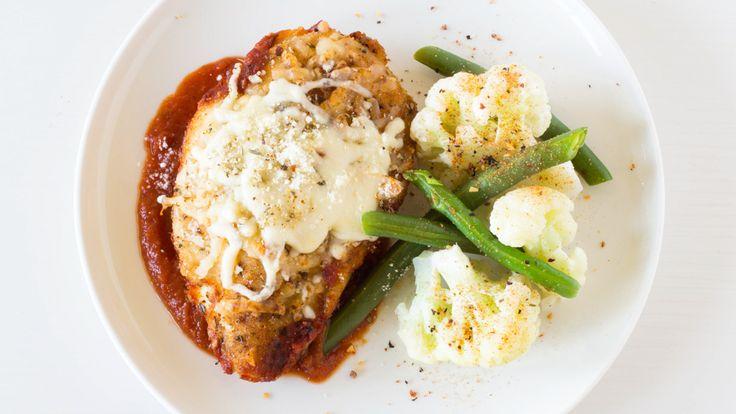 Super Simple Chicken Parmesan