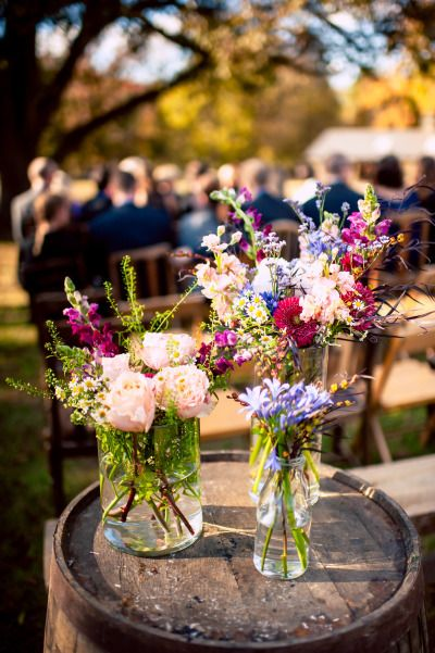 Rustic elegance at the Vinewood Plantation: http://www.stylemepretty.com/georgia-weddings/newnan/2014/08/15/rustic-elegance-at-the-vinewood-plantation/ | Photography: http://www.oncelikeaspark.com/