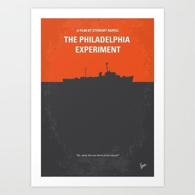 My The Philadelphia Experiment minimal movie poster Art Print by Chungkong
