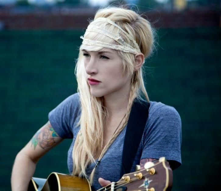 Sarah Blackwood from walk off the earth ....stunning, beautiful, talented woman <3