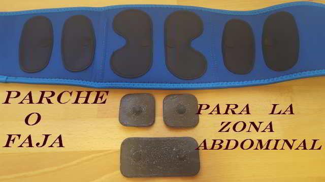 Cómo colocar los parches en abdominales para perder grasa con la ayuda de la electroestimulación. ¿Es mejor la faja o electrodo?
