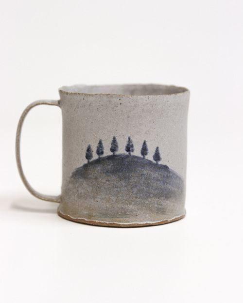 http://www.editionlocal.com >> Ceramic Hand Painted Cup.