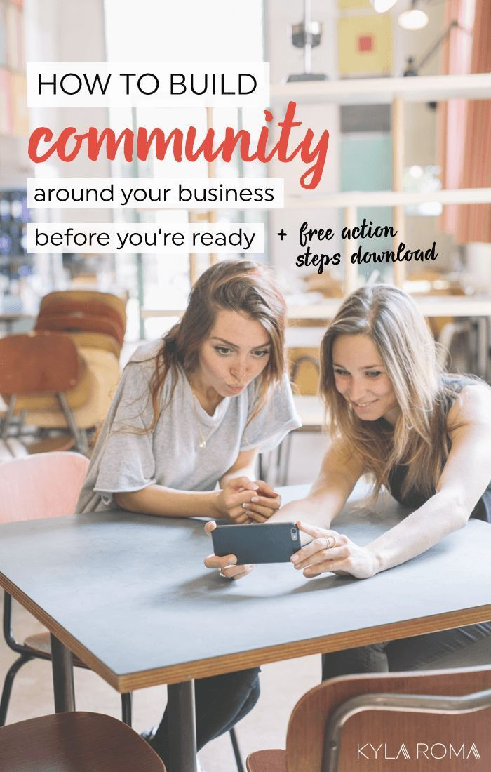 Wish you had influencers and supporters supporting you? Then you're ready to build community around your business! Download the free guide to get started.