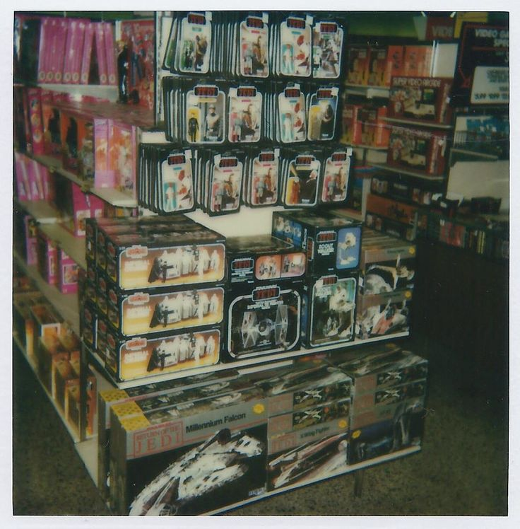 KennerCollector.com Vintage Star Wars Toy Store Photo