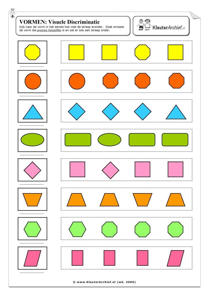 thema kleuren en vormen - Google zoeken