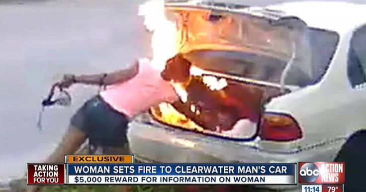 Psycho Girlfriend Sets Fire To Her Ex Boyfriend's Car! But Got The WRONG Vehicle! Psycho Girlfriend Sets Fire To Her Ex Boyfriend's Car! But Got The WRONG Vehicle! http://u2287p6477.newsninjaa.com/psycho-girlfriend-sets-fire-to-her-ex-boyfriend-s-car-but-got-the-wrong-vehicle/84721 A Florida woman set fire to a car thinking it belonged to her ex boyfriend but got the wrong vehicle.
