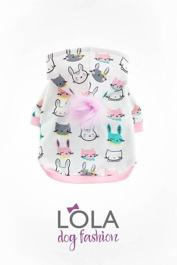 Sudadera con capucha hecha a mano para perros (ropa para perros pequeños), suéter para perros, ropa para perros, mascotas …   – Animales Mundo