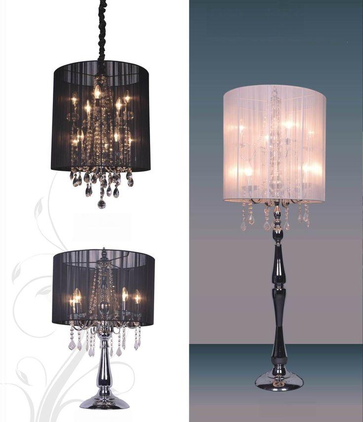 Boudoir Chandelier Floor Lamp Shop Interior Design Home