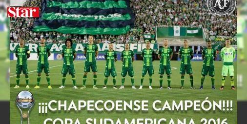 Chapecoense Copa Sudamericana şampiyonu! : Güney Amerika Futbol Konfederasyonu (CONMEBOL) Chapecoenseyi Copa Sudamericana şampiyonu ilan etti.  http://www.haberdex.com/spor/Chapecoense-Copa-Sudamericana-sampiyonu-/111852?kaynak=feed #Spor   #Chapecoense #Sudamericana #şampiyonu #Copa #ilan