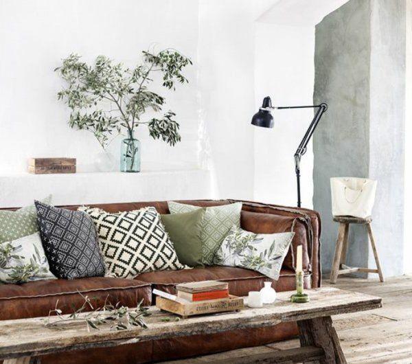1 joli salon idee deco petit salon avec