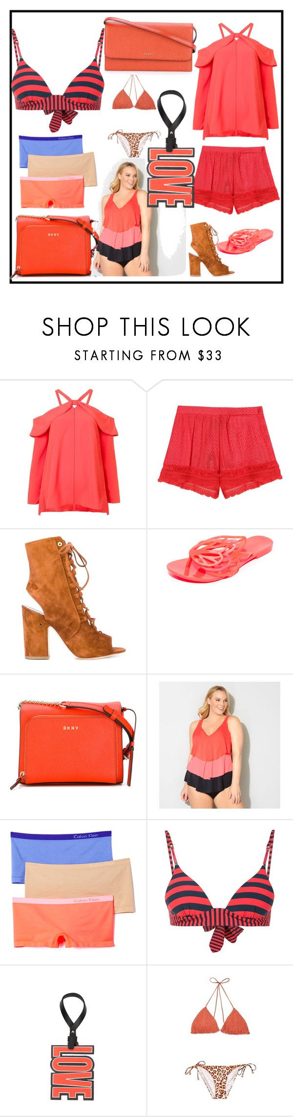 """the first time of set"" by denisee-denisee ❤ liked on Polyvore featuring Proenza Schouler, Missoni, Laurence Dacade, Melissa, DKNY, Avenue, Calvin Klein Underwear, STELLA McCARTNEY, Givenchy and Zimmermann"