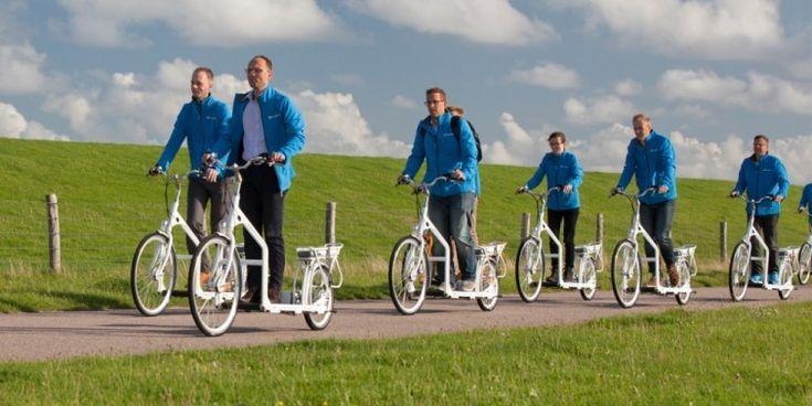 Una bicicleta eléctrica, ¡con banda caminadora! - Notas - La Bioguía
