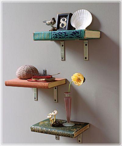 Love this idea!: Office, Craft, Textbook, Book Bookshelf, Book Bookshelves, Book Shelf Literally, Shelf Ideas, Bookshelves Made, Bedroom