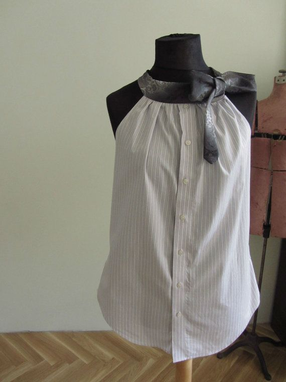 Upcycled vêtements / Light Purple par GarageCoutureClothes sur Etsy