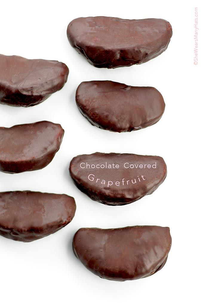 These Chocolate Covered Grapefruit treats are a great combination of fresh citrus and sweet chocolate. if you're a grapefruit fan, you'll love these!
