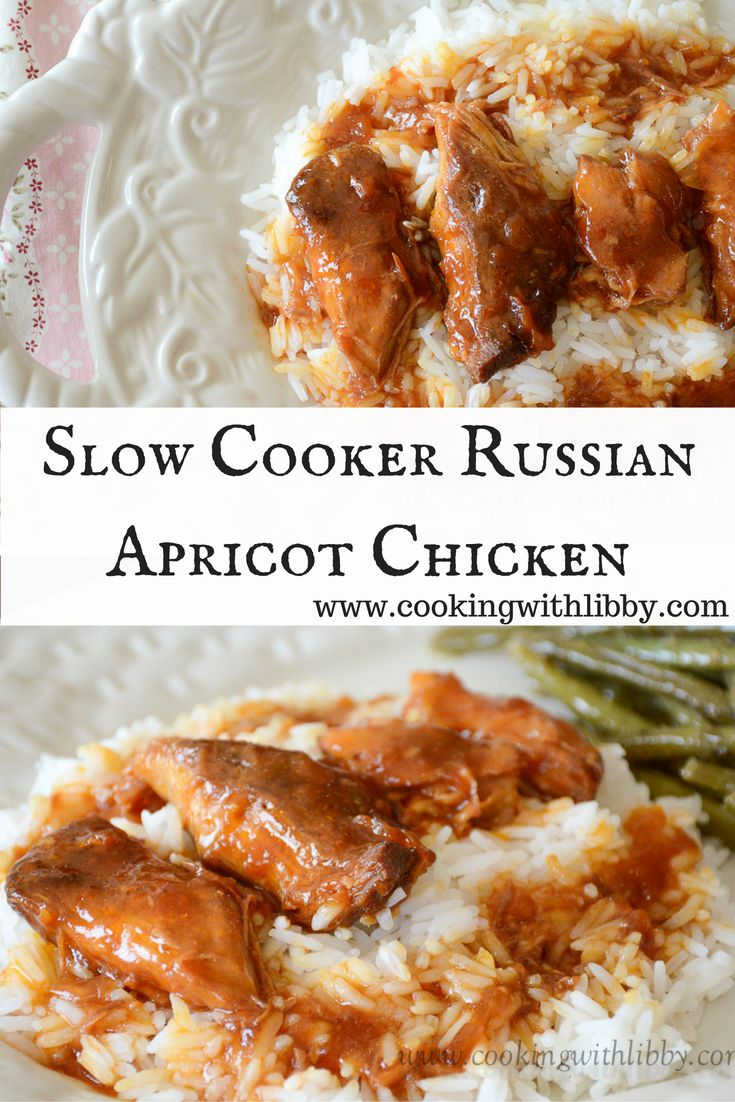 Let your slow cooker do all the work with this Russian Apricot Chicken recipe. With only four ingredients, it's sure to please even the pickiest eater!