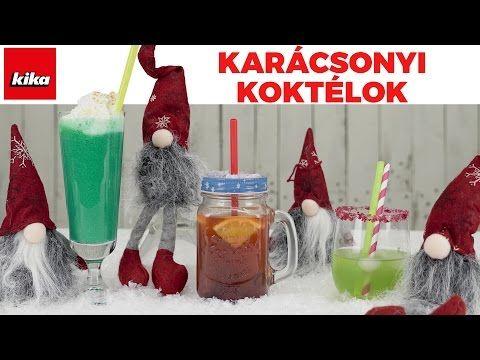 Karácsonyi Koktélötletek (alkohol mentes ) | Kika Magyarország - YouTube