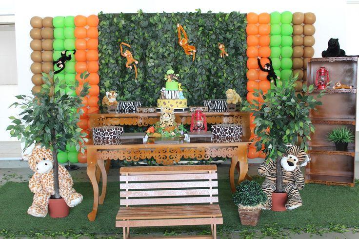 Tá na Hora Festas Infantis: Safari