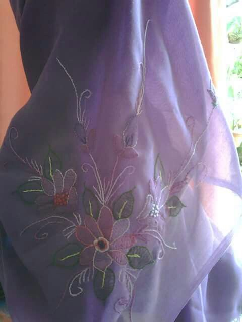 Sulam bayangan # Hand Embroidery