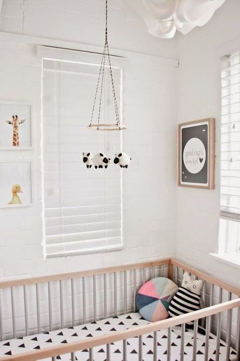 Vintage  beautiful neutral nursery ideas for a stylish grown up baby us room