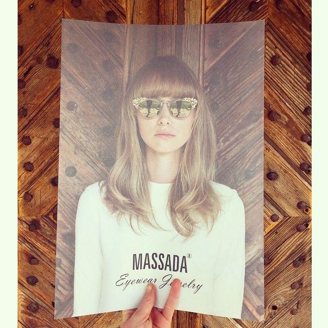 Massada Eyewear Jewelry frame double framed in frame. #massada #massadaeyewear #massadaeyewearjewelry #myphilosophyisthickerthanwood #massadahome