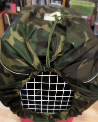 A cover for a pet carrier
