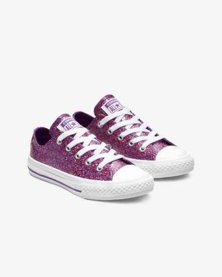6adc684ccf19ed Converse Chuck Taylor All Star Party Dress Low Top Big Kids  Shoe ...