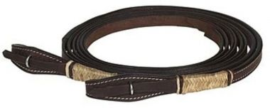 Check out the deal on Buffalo Leather Rawhide Wrapped Split Reins at Chicks Discount Saddlery