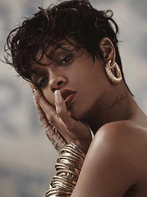 awesome 15 best Rihanna Pixie cuts //  #Best #cuts #pixie #Rihanna