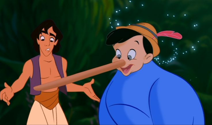 Have you ever noticed these hidden #Disney characters in other Disney movies? Check out # 3! #pinocchio  www.fairedelargentsurinternet.tumblr.com