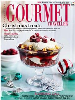 Australian Gourmet Traveller Magazine, December 2012 (recipe index)