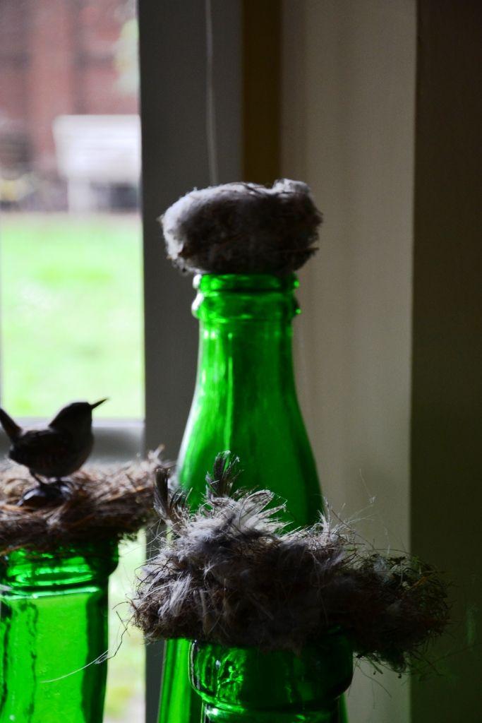 romantic B&B # bird nests # www.cabiancadellabbadessa.it # italian countriside # italian farm house #