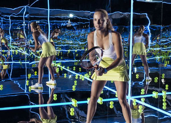 Stella McCartney makes outfits for  Wimbledon - new collection in collaboration with Adidas
