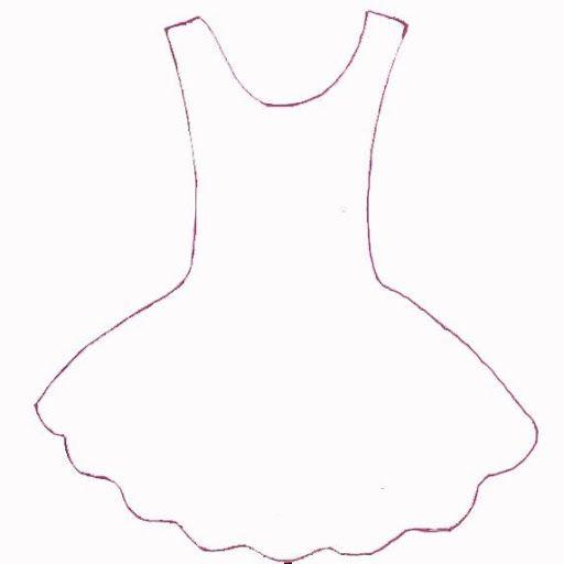 molde vestido bailarina feltro - Pesquisa Google