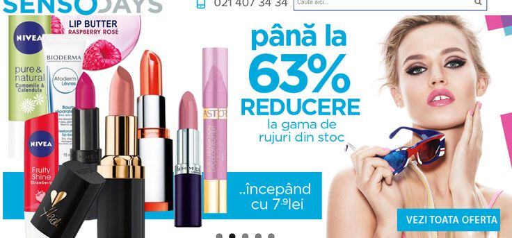 Koyos.ro se transforma in SensoDays.ro . #machiaj #cosmetice #cosmetics #makeup