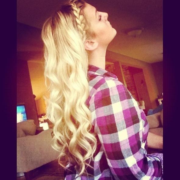 braid, curls