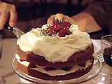 This cake is very tasty!! I've made in twice now but I know it will be one ill be making a lot more. The taste of the cake is great and soft the filling in fresh cut strawberries and home made whip cream. Love it!!