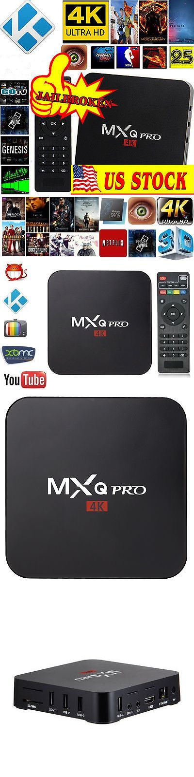 Cable TV Boxes: Mxq Pro 4K S905 Smart Tv Box Android 5.1 Quad Core Wifi 8G Free Keyboard -> BUY IT NOW ONLY: $50.34 on eBay!