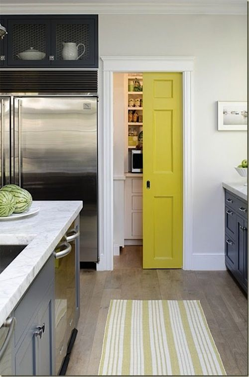 Sliding door for the pantry pocket doors pinterest for Sliding pantry doors