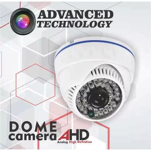 Cámara De Seguridad Domo Cctv Ahd 1mp Lente2,8mm 36led - $ 45.000