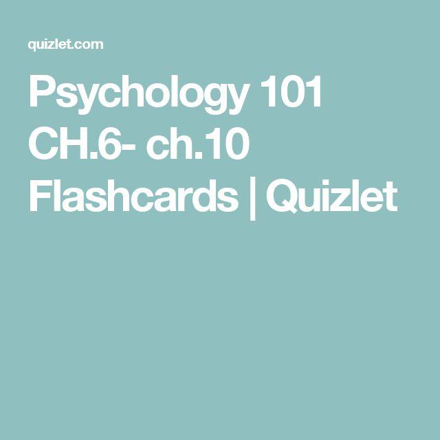 The 106 best Psychology images on Pinterest | Psychology, Flashcard ...